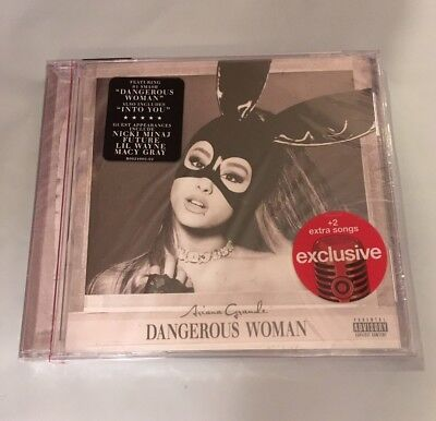 Ariana Grande Dangerous Woman Limited Deluxe Edition Target Exclusive Cd   New