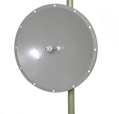 WiFi 5 GHz Parabolic Dish Antenna 30 Dbi 60cm 0.6 meter 2 ft Heavy Tilt HD Mount