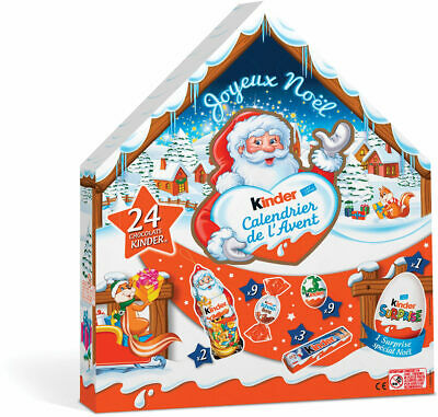 Kinder ADVENT Calendar 1ct. Christmas 182g 2020 FREE SHIPPING