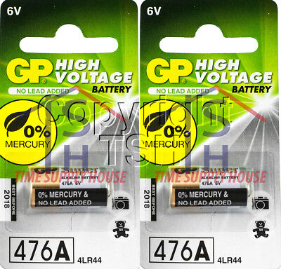 2PC GP 4LR44 476A L1325 A544 PX28A V4034PX 6V ALKALINE BATTERIES EXP 2021 for sale  Shipping to India