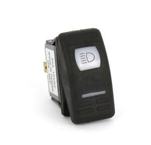 12V Kippschalter ON-OFF mit Symbol + LED wasserdicht IP56, Schalter Wippschalter