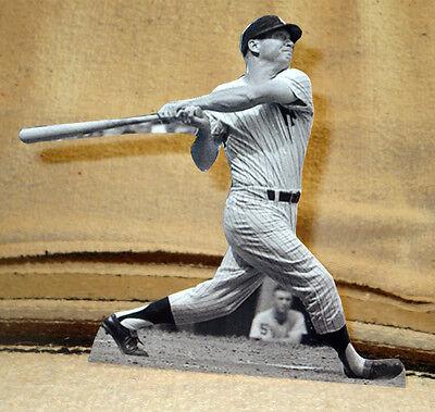 Mickey Mantle New York Yankees Baseball Figure Tabletop Display Standee 8