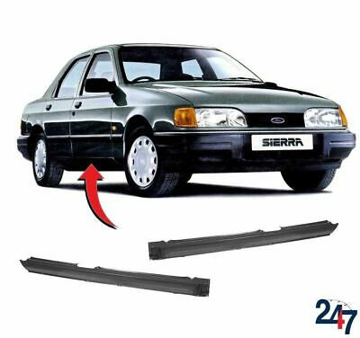 Moldura Lateral Piezas Reparación Par Set Izquierdo Derecho Para Ford Sierra