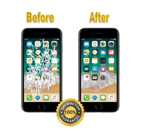 Iphone 7 Cracked Glass Or Lcd Broken Screen Repair Service White Or Black