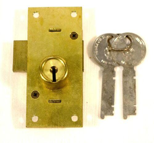 Vintage Eagle Wardrobe Locks Brass w Keys 6098