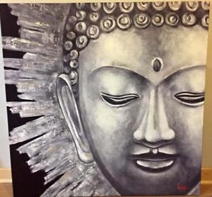 Looking for this wall art from Wicker Emporium - Buddha