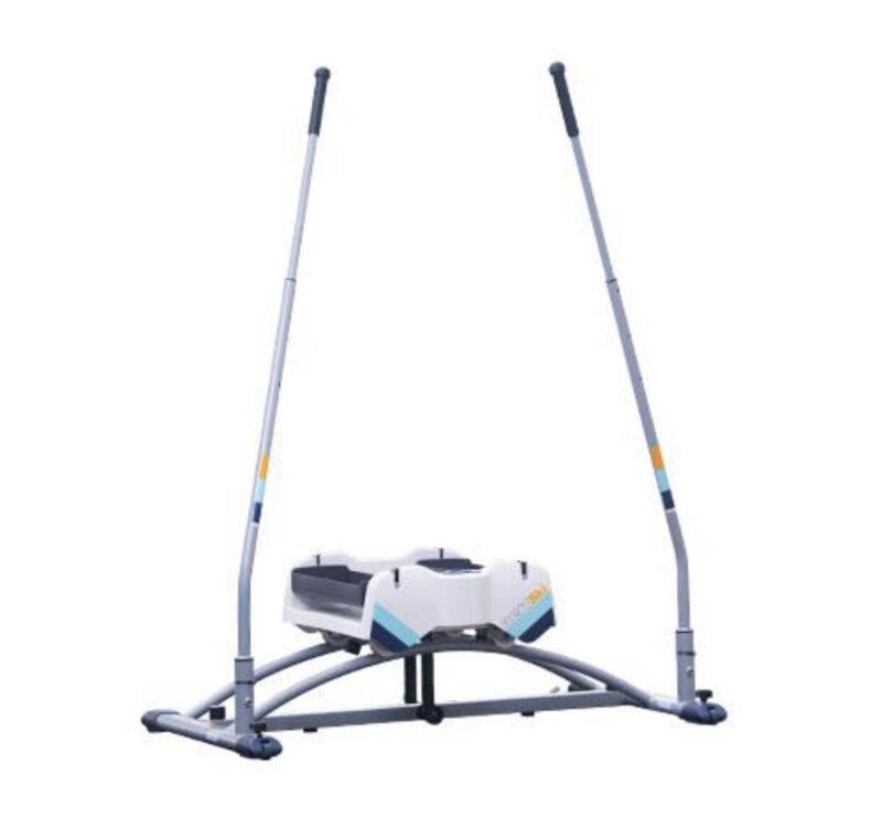 Aeroski 2.0 Ski Fitness Workout Machine with Recoil Spring Resistance W Mat!