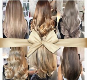 Colour/ wash/ cut/ extensions install and more