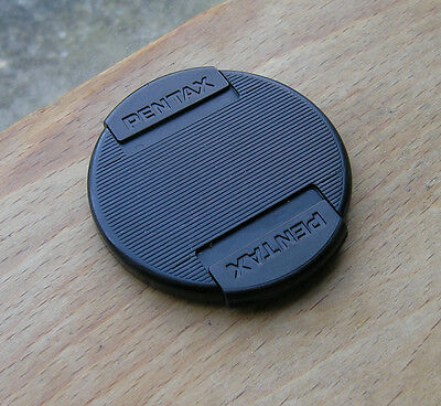 genuine  Pentax later   front clip  on lens cap for 52mm filter
