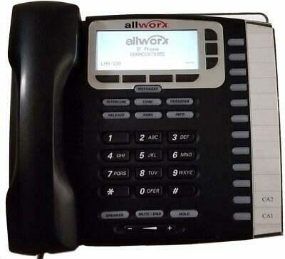 Allworx 8110061 9212l Ip Phone 12 Programmable Buttons With Backlit Display