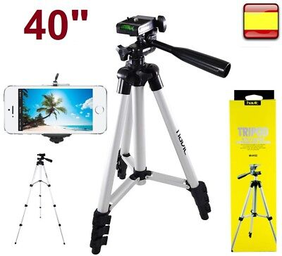 Trípode Portátil Para Camara Videocamara Prismaticos Moviles 40