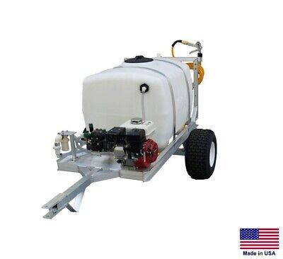 Sprayer Commercial - 2 Wheel Trailer - 9.5 Gpm - 580 Psi - 100 Gallon Tank