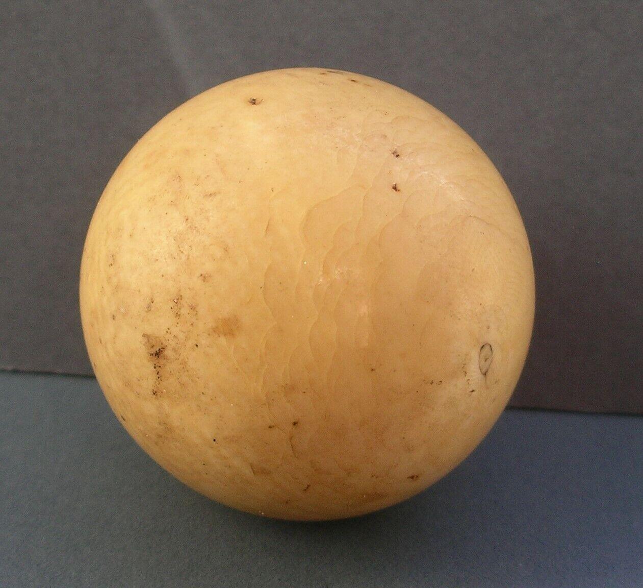 19th Century Original Antique Snooker Ball Weighs 4.7 oz 2 inches Diameter