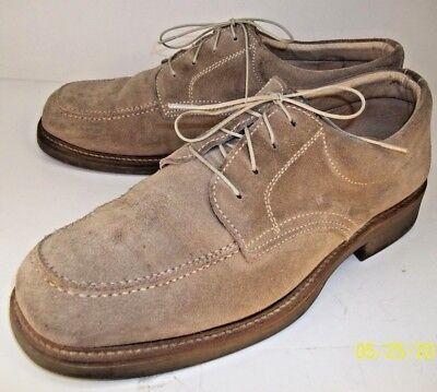 Beige Suede Casual Shoes (America Shoes & Boots Mens Shoes US 9 EU 42 Beige Suede Casual Oxfords 1107 )