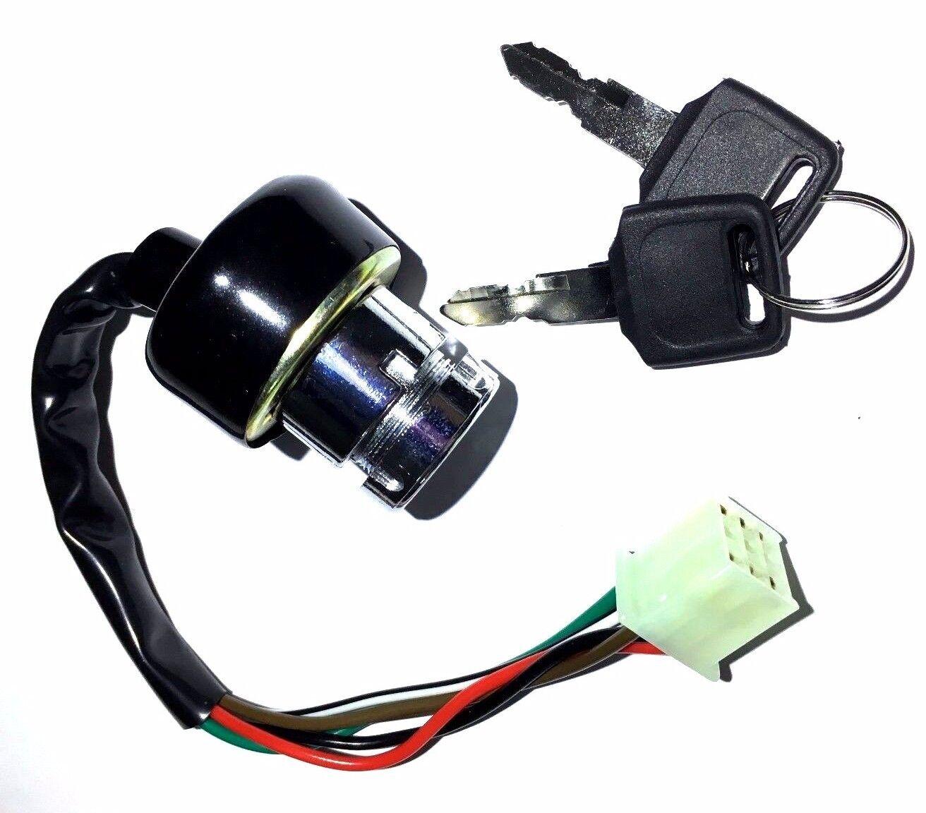 Ignition Key Switch 6 Wire Kazuma Meerkat 50 Falcon Redcat