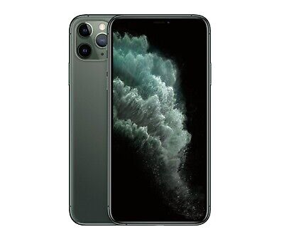 Apple iPhone 11 Pro Max 256GB Midnight Green LTE Cellular AT&T MWH72LL/A