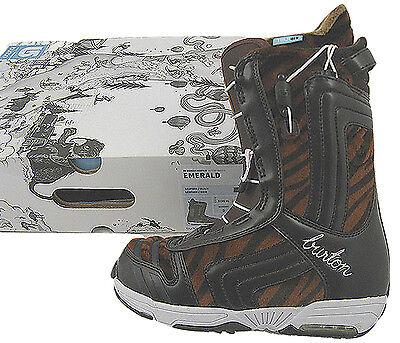 NEW Burton Emerald Snowboard Boots!  US 6 UK 4 Euro 36.5 Mondo 23  Tiger Print