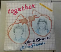 Amii Stewart And Mike Francis ‎– Together - Rca Pt 40206 - 1985 - -  - ebay.it