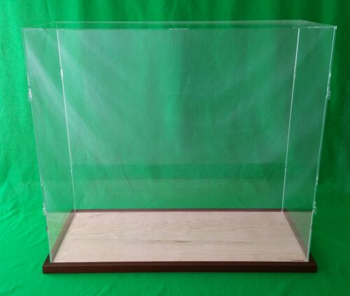 "23""x10""x20"" Table Top Display Case Box for Ocean Liner Cruise Ships Collectibles"