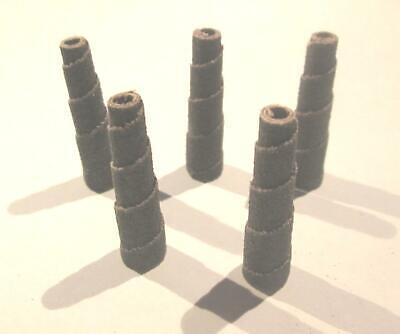 Merit Full Tapered Spiral Roll 38 X 1.5 X 18 100 Grit 50pc Ts22