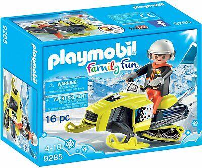 Playmobil 9285 Snowmobile Action Figure