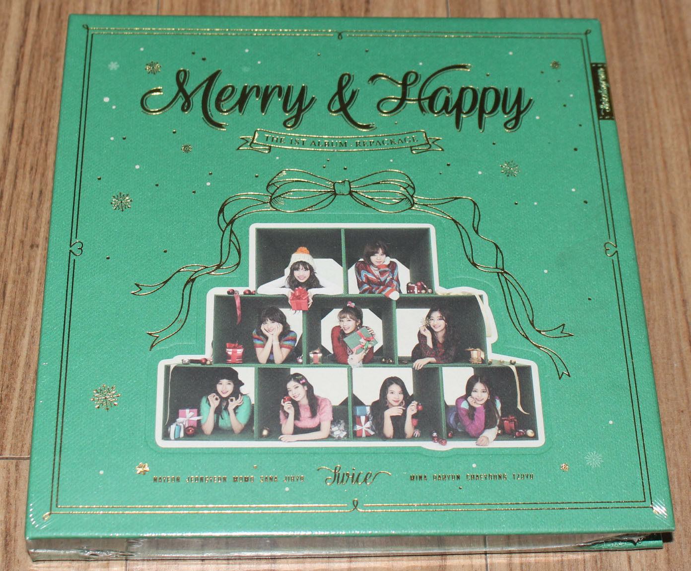 MERRY /& HAPPY CD+PHOTOCARD TWICE 1ST ALBUM REPACKAGE
