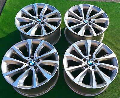 Factory BMW X6 19 inch Wheels Set of 4 Genuine Original OEM V Spoke 595 Bicolore
