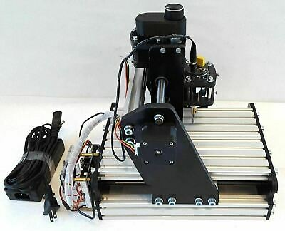 Mini 3 Axis Desktop Cnc Router Kit Wood Pcb Milling Carving Engraving Machine
