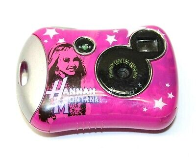 Disney Digital Imaging Hannah Montana Digital Camera Pocket Style Pink Digicam Stylus Pink Digital Camera