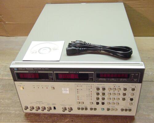 HP Agilent 4192A LF Impedance Analyzer 5 Hz - 13 MHz Tested