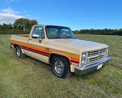 1985 chevrolet silverado C10 pickup truck Chevy American shortbed
