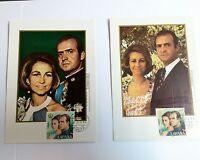 Colección De Tarjetas Postales De S.m. Don Juan Carlos I Y Reina Sofía -  - ebay.es