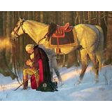 George Washington, Prayer at Valley Forge 16 x 20