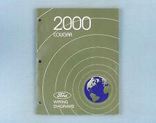 Wiring Diagrams Manual, 2000 Mercury Cougar, FCS-12566-00 ...