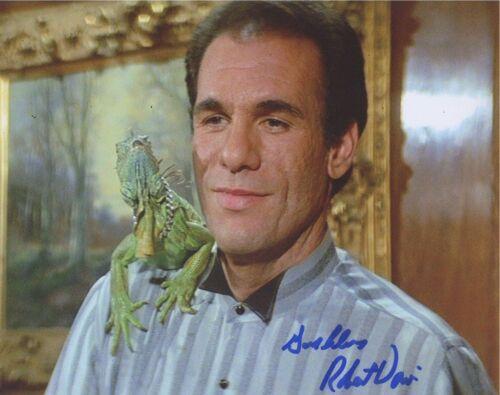 Robert Davi Signed Autographed 8x10 Photo License To Kill The Goonies COA VD