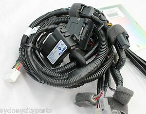 toyota fj cruiser towbar wiring harness 7 pin flat from aug 12 new genuine ebay 2000 toyota land cruiser trailer wiring harness toyota fj cruiser trailer wiring harness instructions