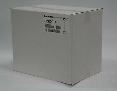 New In Sealed Box Panasonic Pod9cta Outdoor Dome Ptz Heated Camera Housing Pod9