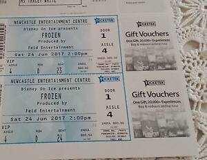 Concert Tickets Disney On Ice Frozen -Newcastle Entertainment Ellalong Cessnock Area Preview