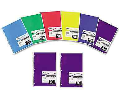 70 Sheets Mead Spiral One-subject College-ruled 1-subject - 8 Notebook 05512