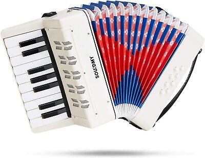 Kids Accordion,17 Keys 8 Bass piano Accordion,Musical Instruments Early Teaching