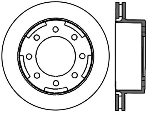 Disc Brake Rotor C Tek Standard Rear Centric 121 66044