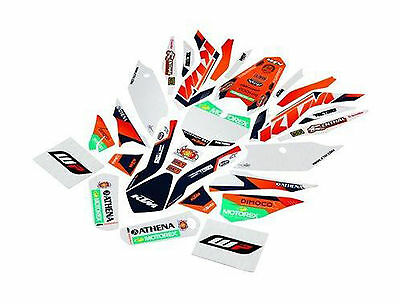 GENUINE KTM FACTORY GRAPHICS KIT 77708990300 15-16 125 150 250 300 SXF XCF SX XC