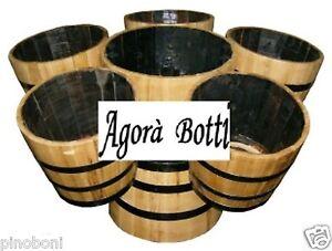 Arcipelago di mezze botti per arredamento locali ebay for Botti per arredamento