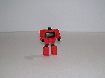 vintage Quartz Red Transforming Robot Watch G1 Diaclone Kronoform
