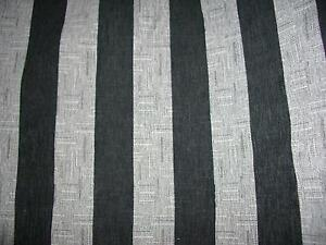 UPHOLSTERY FABRIC PROFILE BELLINO STRIPE CHARCOAL 6MTR