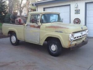 Looking for 57-60  Ford F100 parts