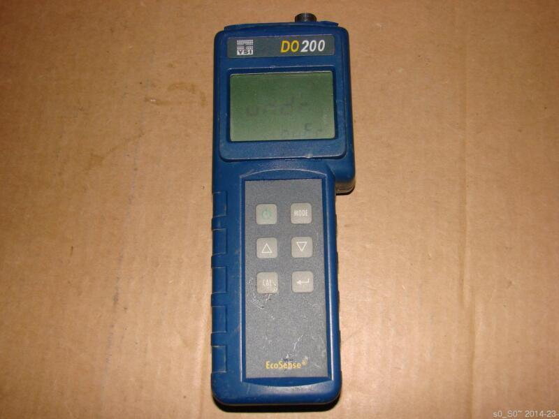 YSI EcoSense DO 200 DO200 Handheld Water Dissolved Oxygen Meter  W/O Sensor