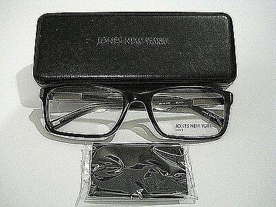 Jones New York Men's J517 Black Eyeglasses Rx-Able Frame 53MM
