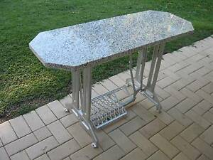Stonetop Patio display hall table Industrial size treadle base Camp Hill Brisbane South East Preview
