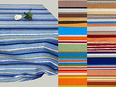 Gestreifte Polster ((6,40 €/m) 50cm STOFF POLSTERSTOFF gestreift Streifen Muster, 11 Farben)
